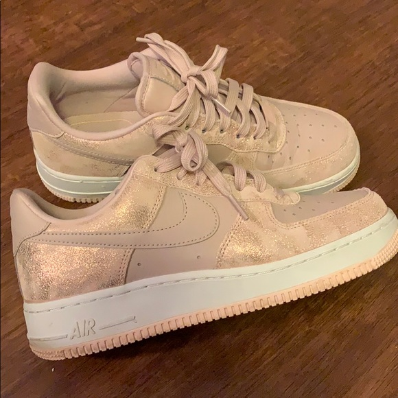 good out x exclusive shoes nice shoes Nike Air Force 1 women's shoe size 8